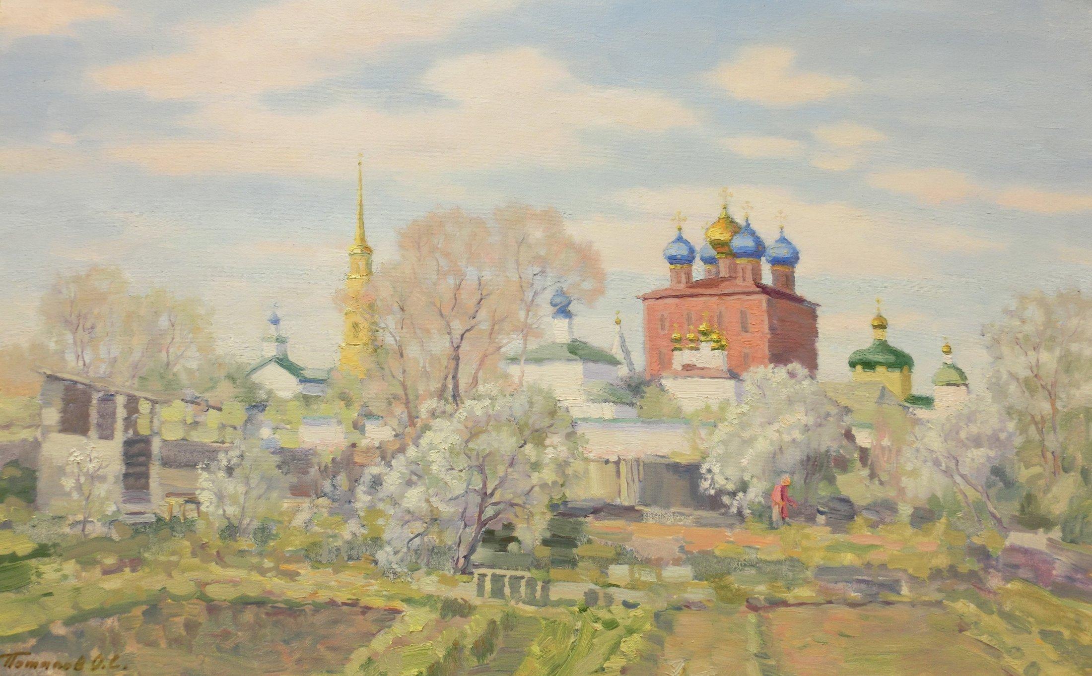 12. Рязанский кремль. 2014. Х., м. 50х80