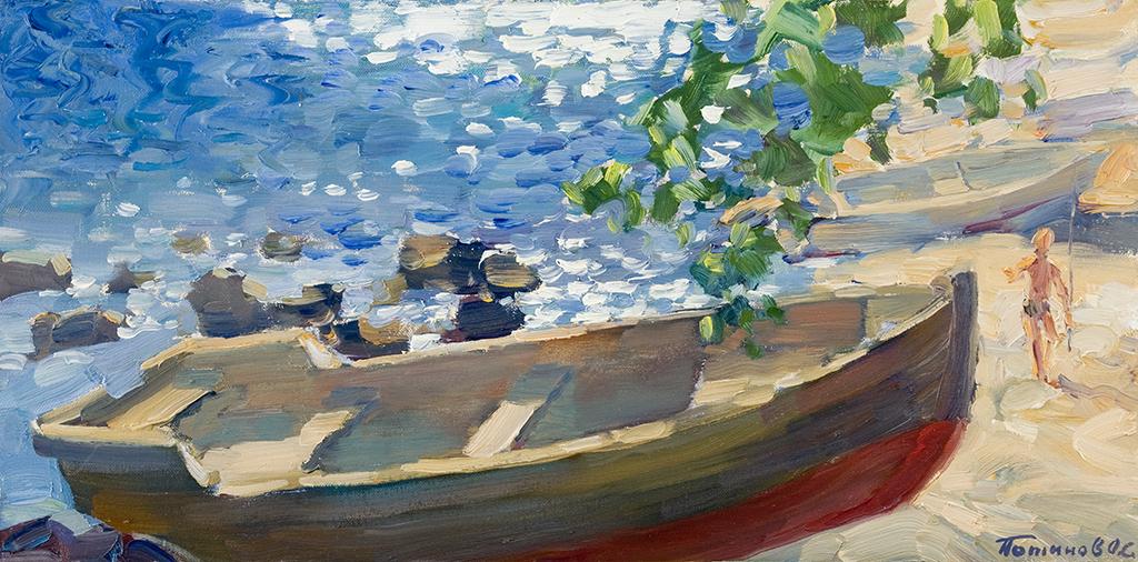 10. Гурзуф. Большая лодка. 2008. Х.,м. 30х60