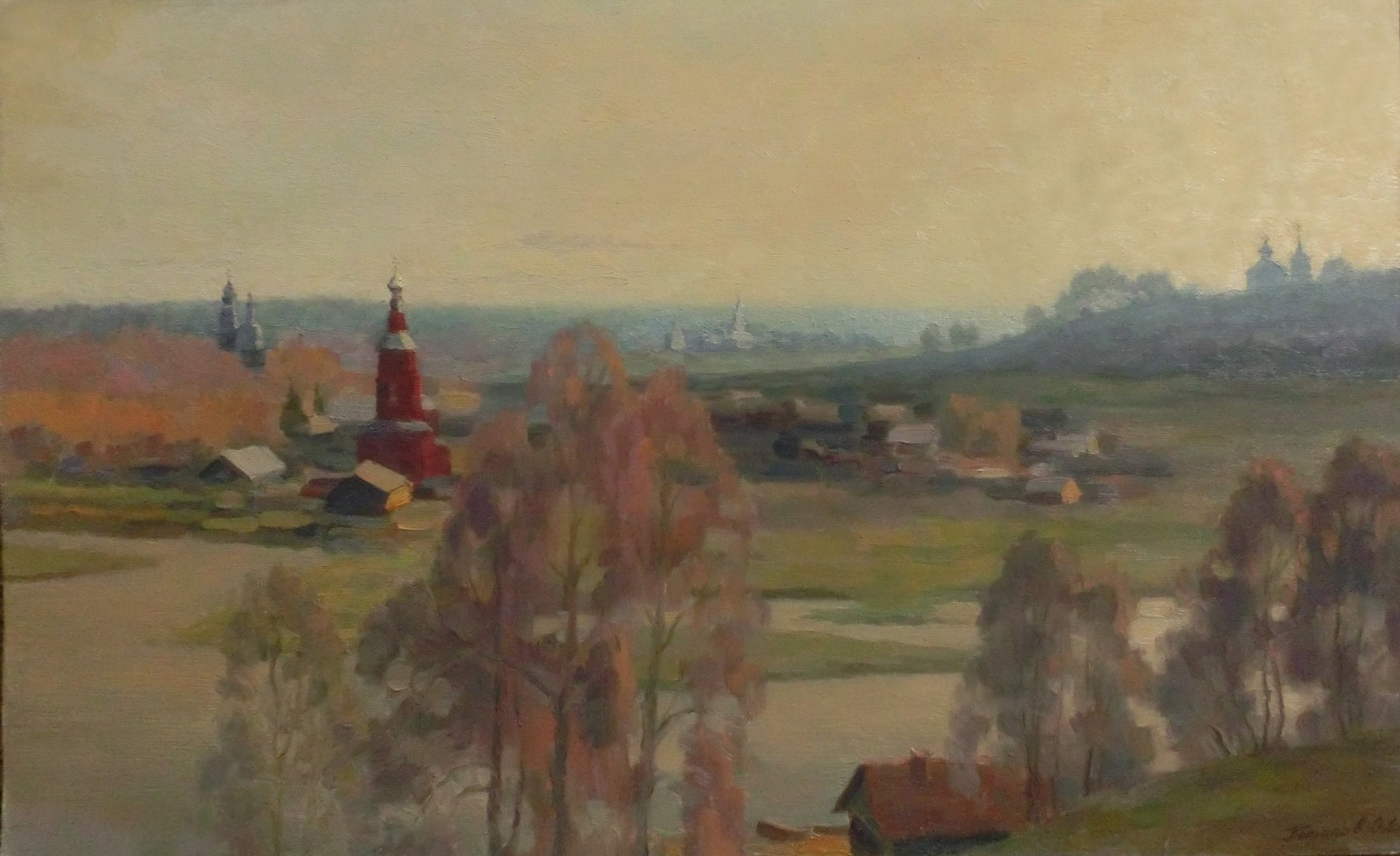 1. Боровск. Русский городок. 2000. Х., м. 50х80