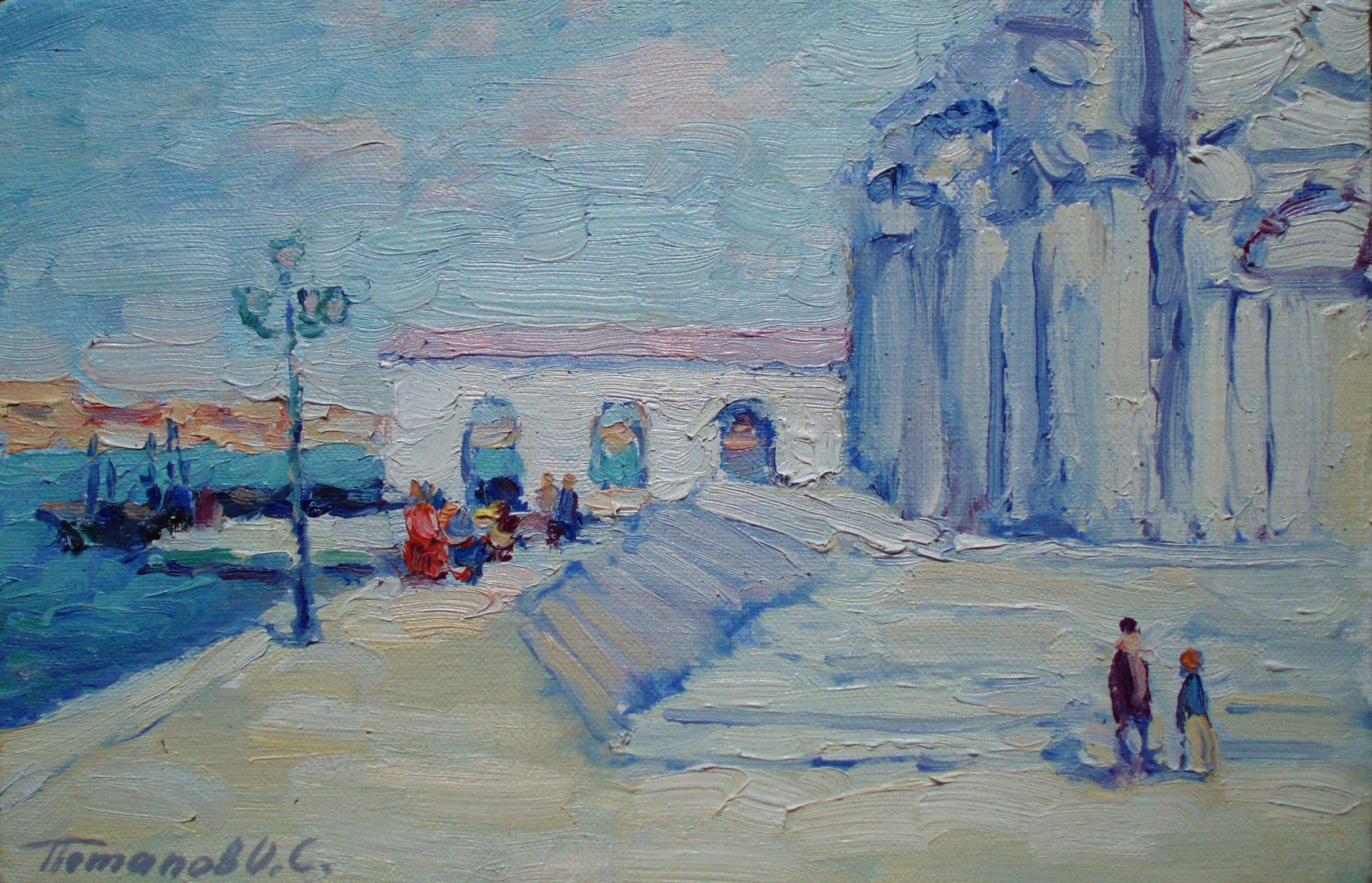 1. Венеция. 2011. Х.,м. 20х30