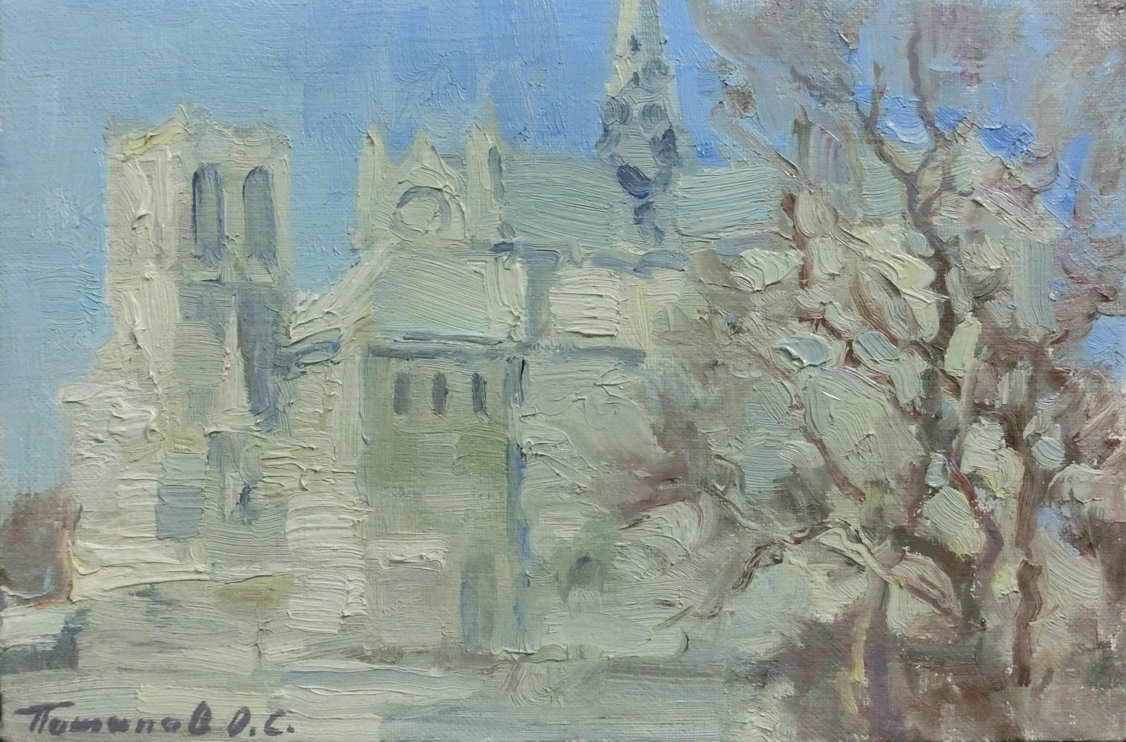 3. Париж. 2007. Х.,м. 20х30