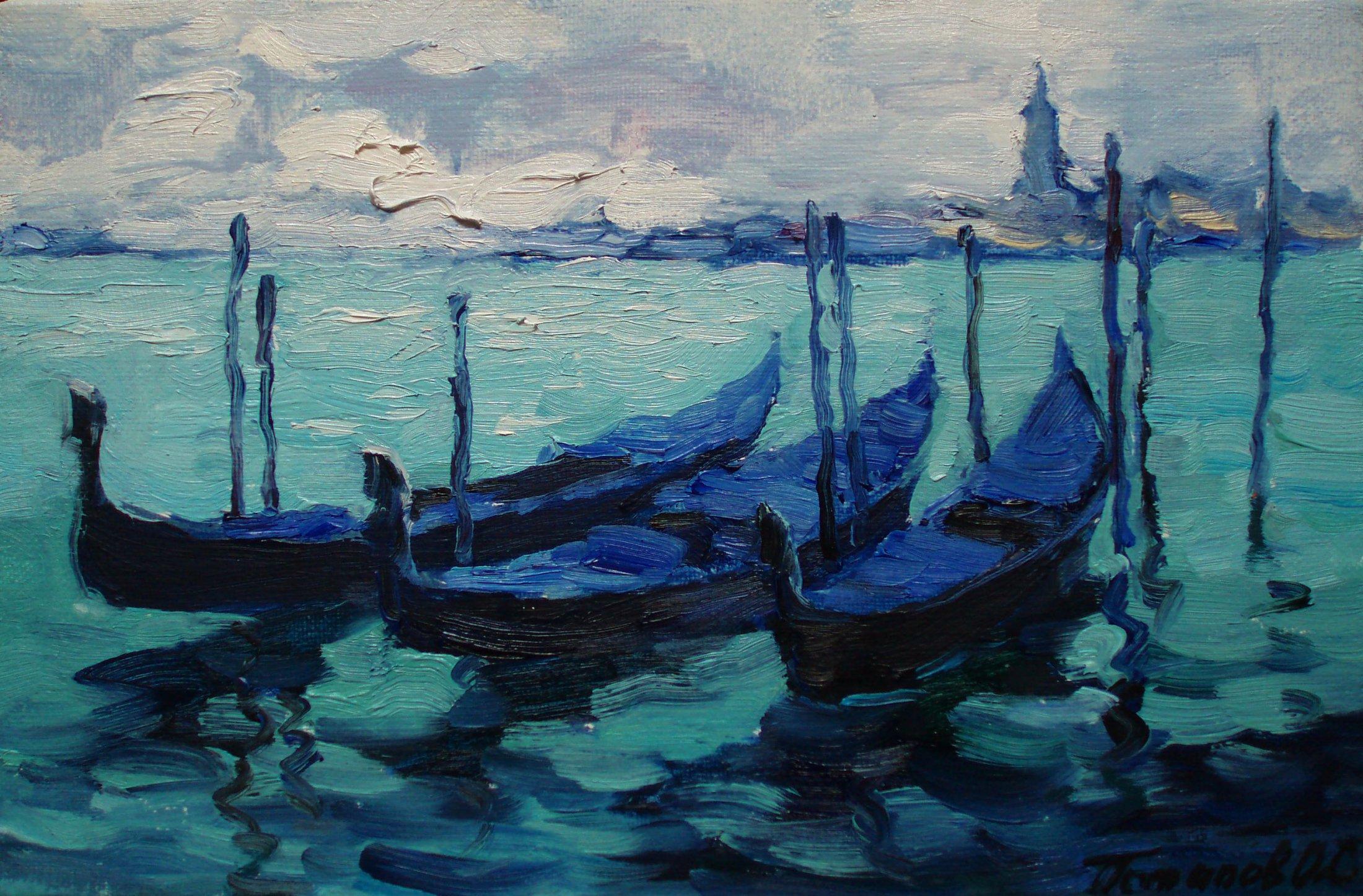4. Венеция. 2011. Х.,м. 20х30