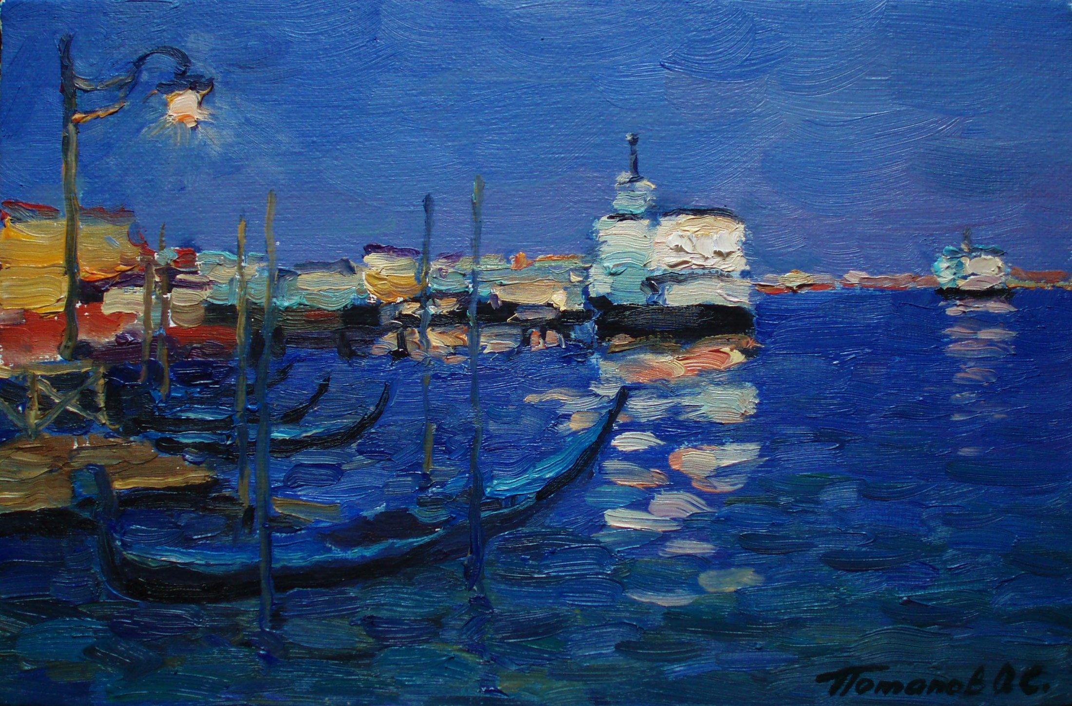 5. Венеция. 2011. Х.,м. 20х30