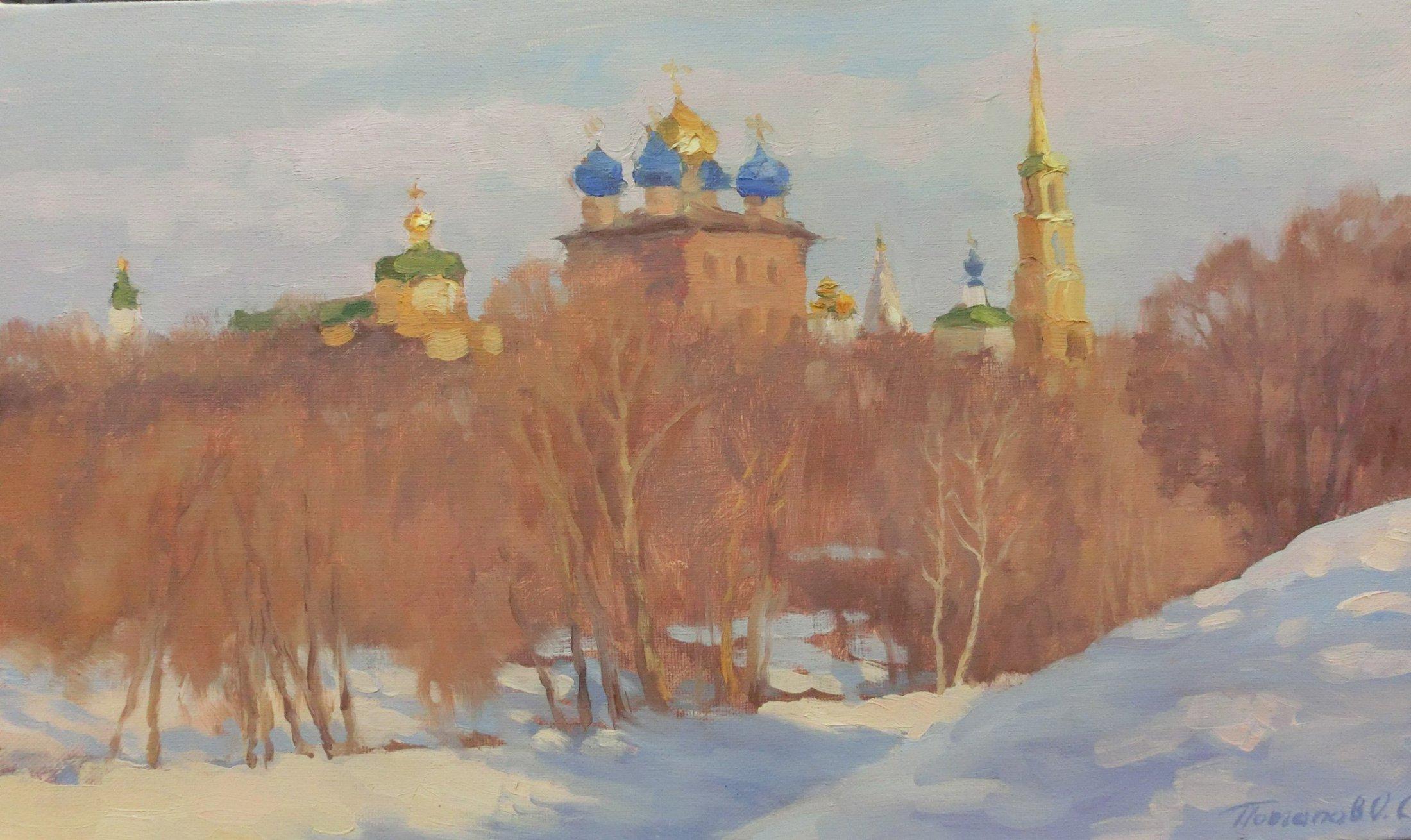7. Рязанский кремль. 2014. Х., м. 30х50