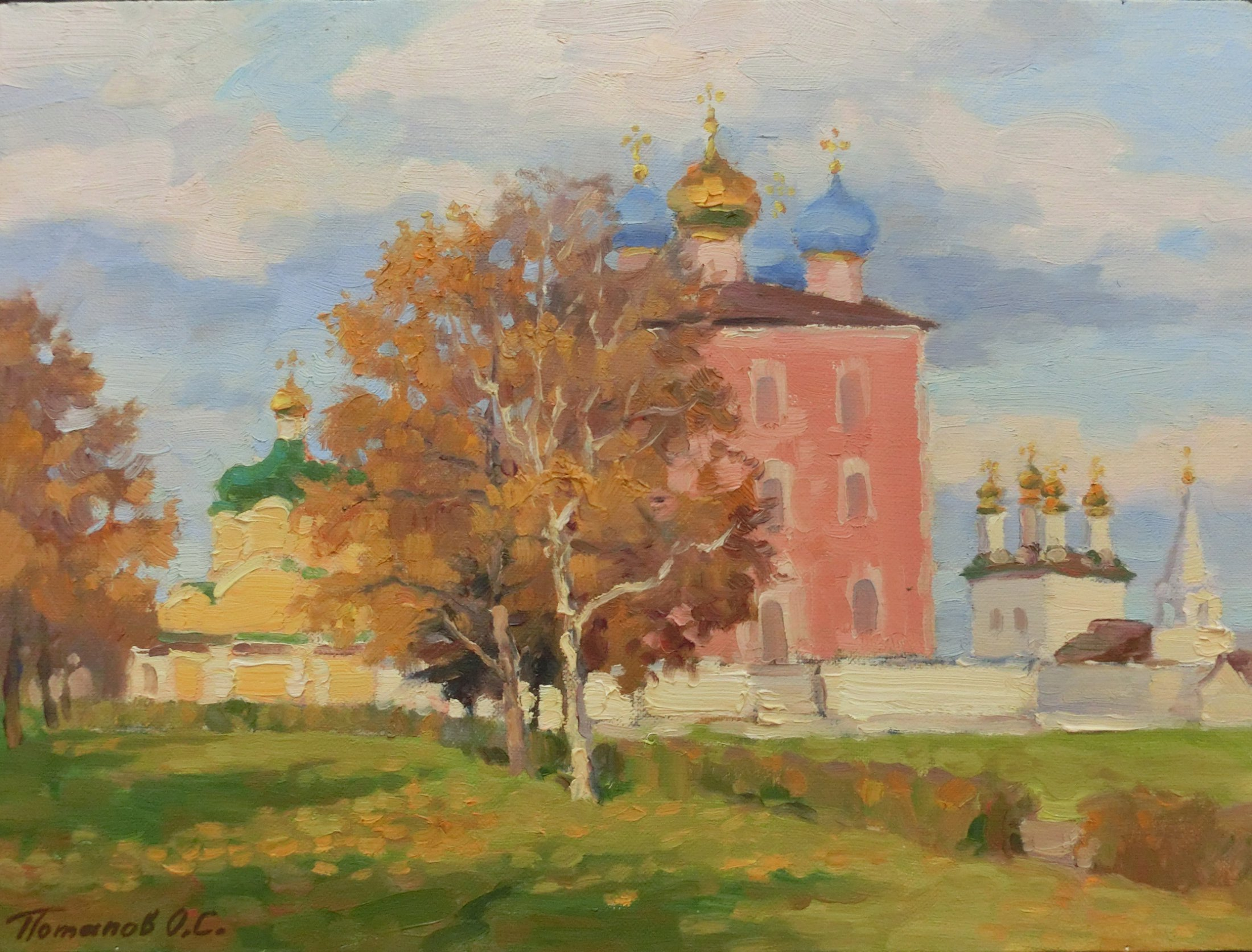6. Рязанский кремль. 2014. Х., м. 30х40