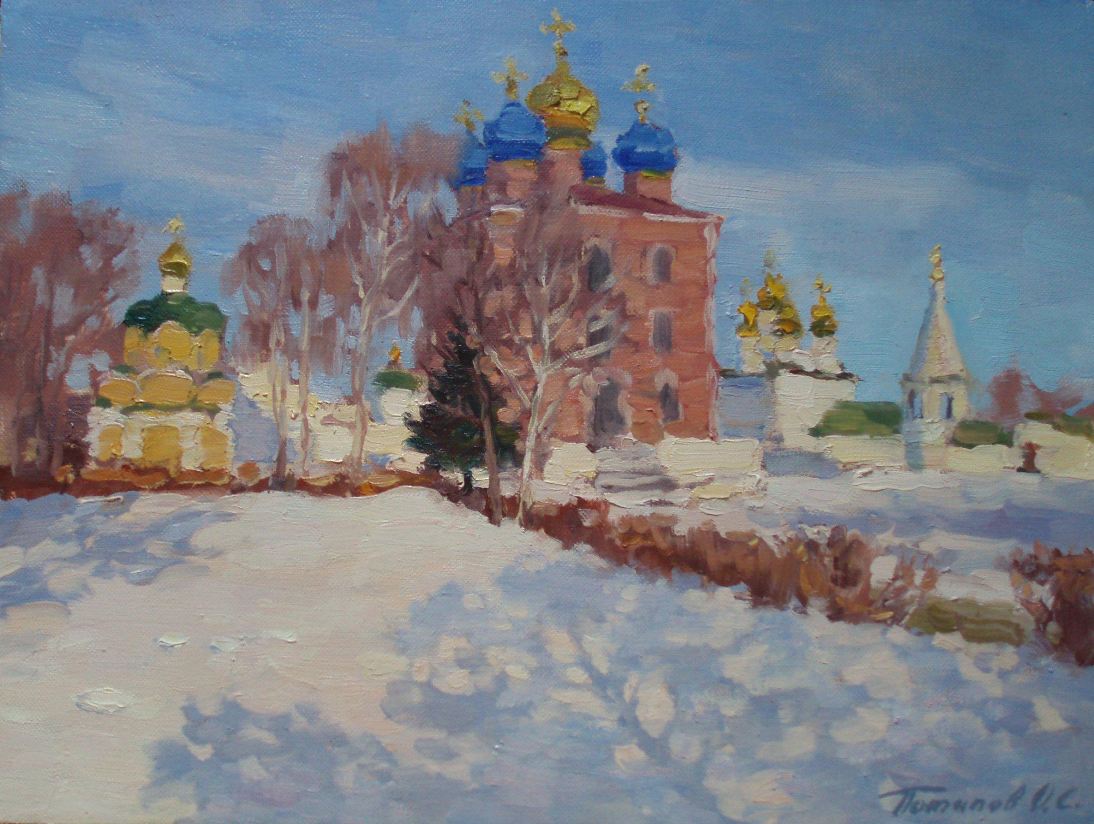 5. Рязанский кремль. 2014. Х., м. 30х40