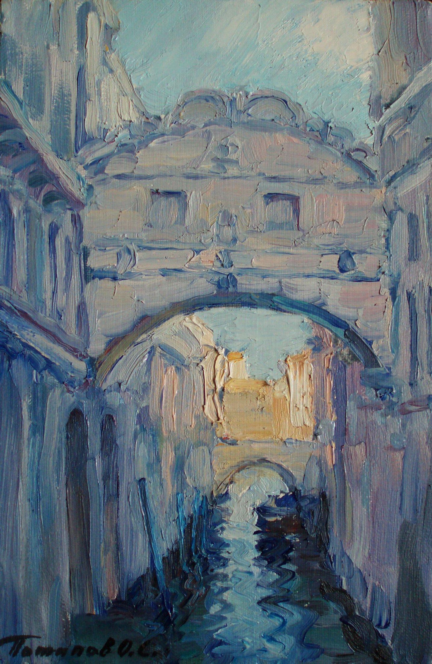 8. Венеция. 2011. Х.,м. 30х20