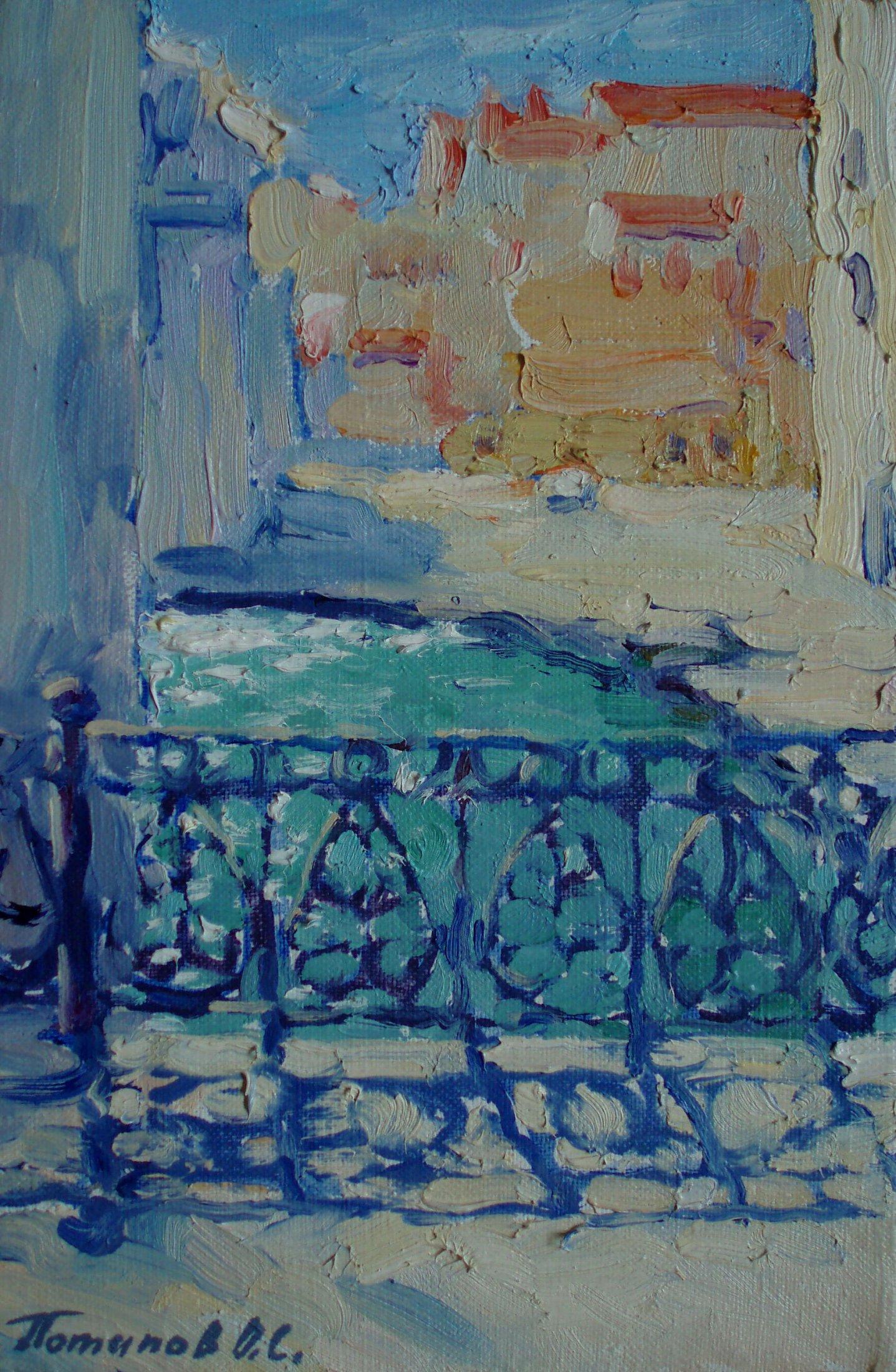 9. Венеция. 2011. Х.,м.30х20