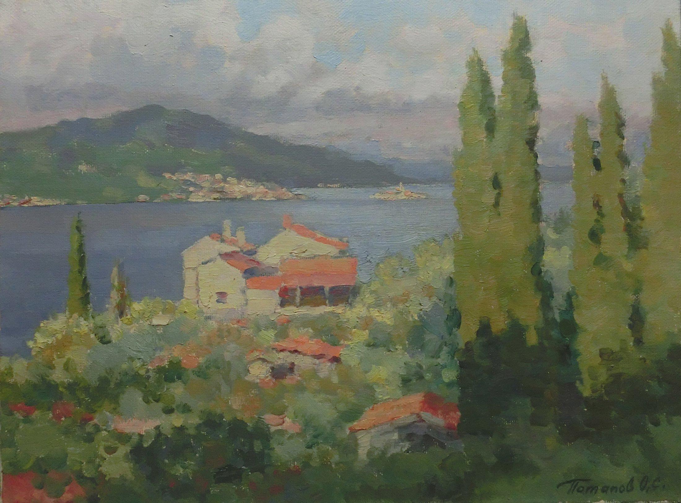 9. Черногория. 2012. Х.,м. 30х40
