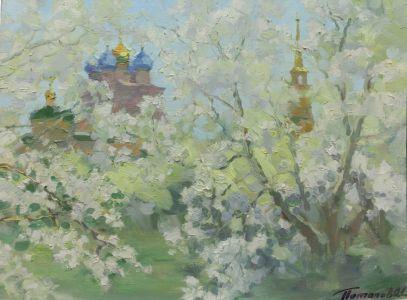 2. Рязанский кремль. 2014. Х., м. 30х40