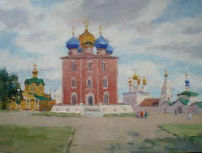 1. Рязанский кремль. 2014. Х., м. 30х40