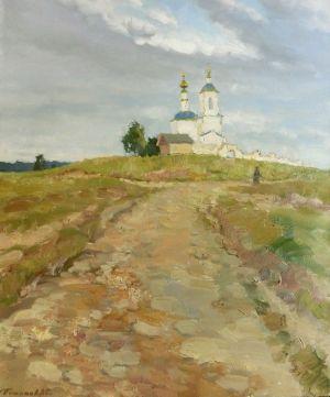 12. Дорога к храму. 2013. Х., м. 60х50