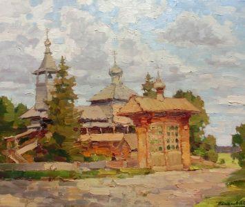11. Покровская церковь. 2013. Х., м. 50х60