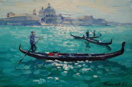 2. Венеция. 2011. Х.,м. 20х30
