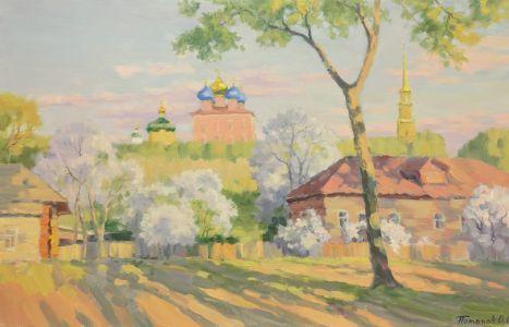 11. Рязанский кремль. 2014. Х., м. 50х80