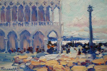 3. Венеция. 2011. Х.,м. 20х30