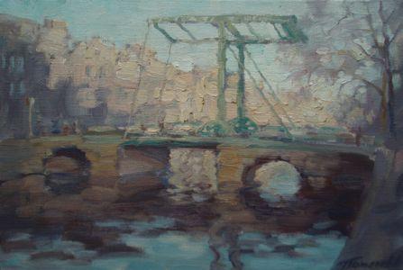 3. Мостик Ван Гога. 2009. Х., м. 20х30