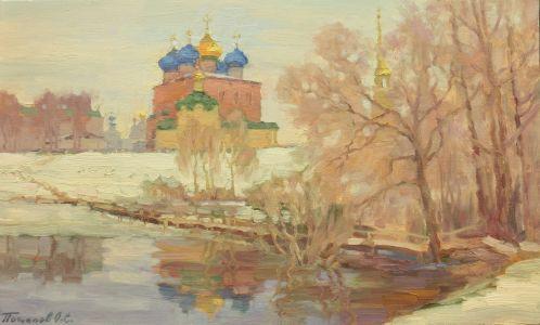 9. Рязанский кремль. 2014. Х., м. 30х50