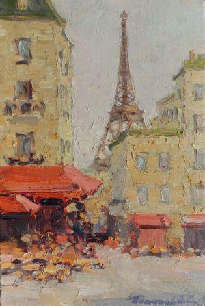 5. Париж. 2007. Х.,м. 30х20