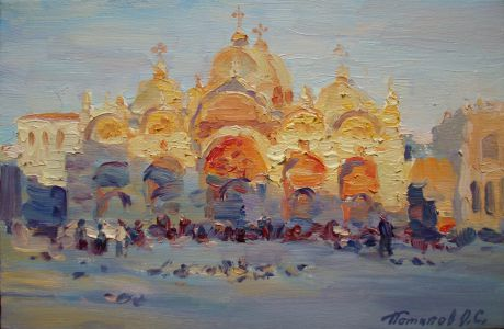 6. Венеция. 2011. Х.,м. 20х30