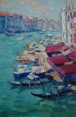 7. Венеция. 2011. Х.,м. 30х20