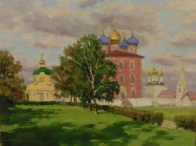 4. Рязанский кремль. 2014. Х., м. 30х40