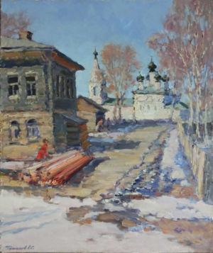 16. Кострома. 2018. Х., м. 60х50