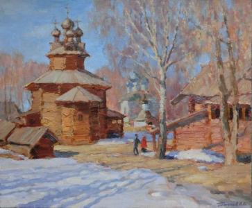 15. Кострома. 2018. Х., м. 50х60