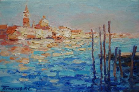 12. Венеция. 2011. Х.,м. 20х30