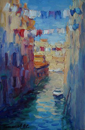 11. Венеция. 2011. Х.,м. 30х20